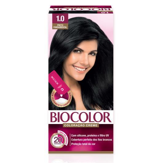 Tinta de Cabelo Biocolor Mini Kit Preto Peça-Chave 1.0 - Imagem em destaque