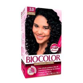 Coloração creme 3.0 castanho escuro chique Biocolor 1 unidade