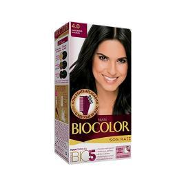Coloração creme 4.0 castanho malícia Biocolor 1 unidade