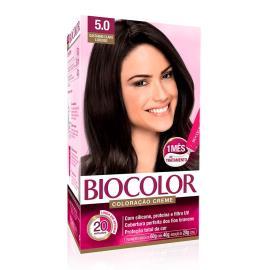 Coloração creme 5.0 castanho claro luxuoso Biocolor 1 unidade