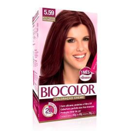 Coloração creme 5.59 acaju púrpura Biocolor 1 unidade