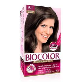 Coloração creme 6.1 louro cinza moderno Biocolor 1 unidade