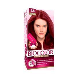 Coloração creme 6.6 vermelho intenso vibrante Biocolor 1 unidade