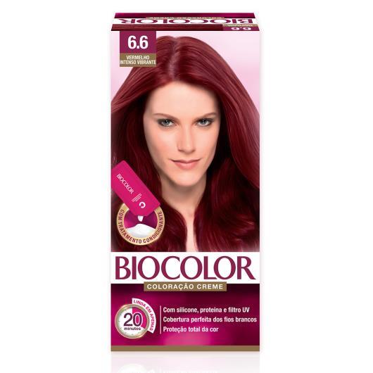 Tinta de Cabelo Biocolor Mini Kit Vermelho Intenso Queridinho 6.6 - Imagem em destaque