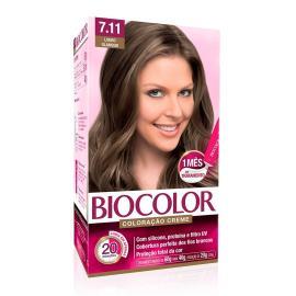 Coloração creme 7.11 louro glamour Biocolor 1 unidade