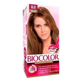 Coloração creme 8.0 louro claro radiante Biocolor 1 unidade