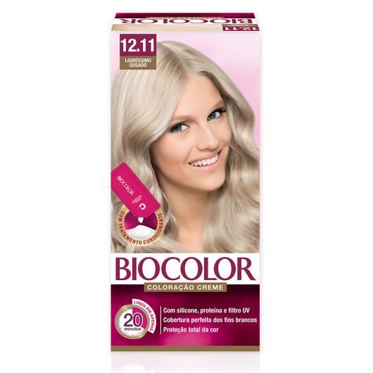 Tinta de Cabelo Biocolor Mini Kit Lourissímo Ousado 12.11 - Imagem em destaque