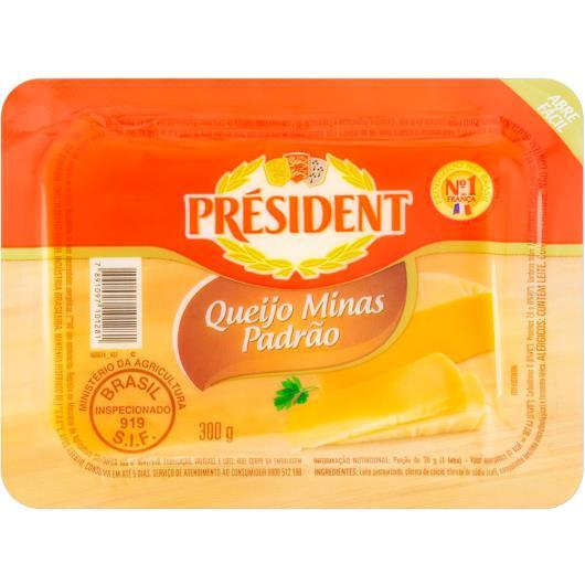 Queijo President Minas Padrão 300g - Imagem em destaque