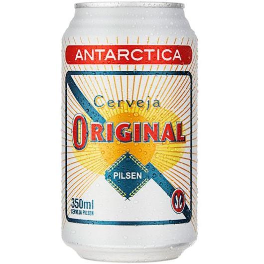Cerveja Antarctica Original Pilsen Lata 350ml - Imagem em destaque