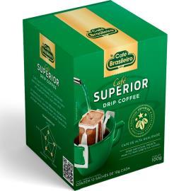 Café Brasileiro Torrado e Moído Superior Drip 100g