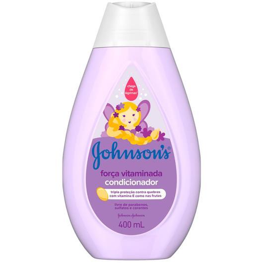 Condicionador infantil força vitaminada Johnson's 400ml - Imagem em destaque