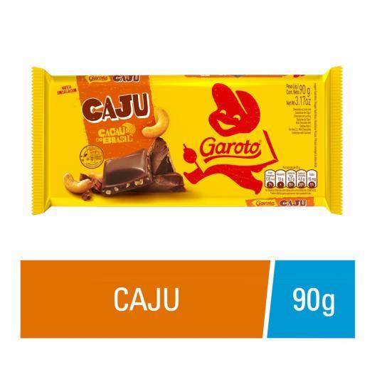 Chocolate GAROTO Castanha de Caju 90g - Imagem em destaque