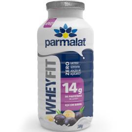 Iogurte açaí com banana Whey Fit Parmalat 200g