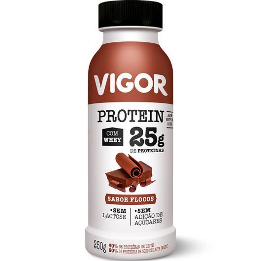 Iogurte flocos Protein Vigor 250g - Imagem em destaque
