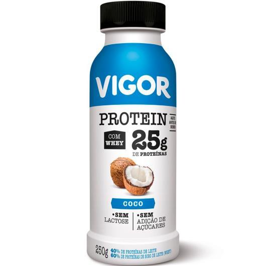 Iogurte coco Protein Vigor 250g - Imagem em destaque
