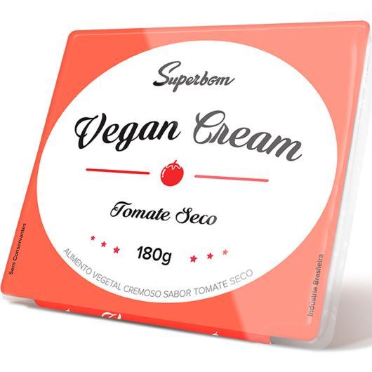 Alimento Vegetal tomate seco Vegan Cream Superbom 180g - Imagem em destaque
