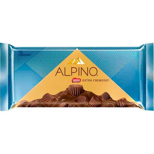 Chocolate Alpino extra cremoso Nestlé 90g - Imagem em destaque