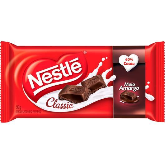Chocolate Classic meio amargo Nestlé 90g - Imagem em destaque