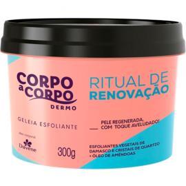 Geleia esfoliante dermo ritual de renovação Corpo a Corpo 300g