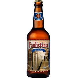 Cerveja Trem das Onze Paulistânia garrafa 500ml