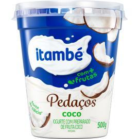 Iogurte pedaços de coco Itambé 500g
