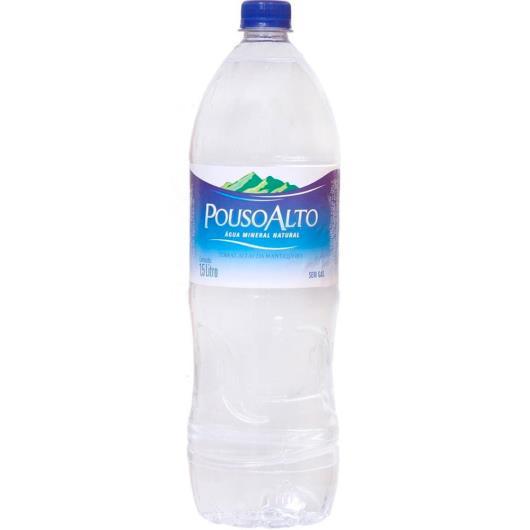 Água sem gás mineral Pouso Alto 1,5L - Imagem em destaque