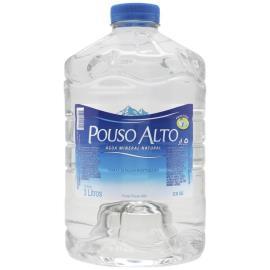 Água sem gás mineral Pouso Alto galão 3L