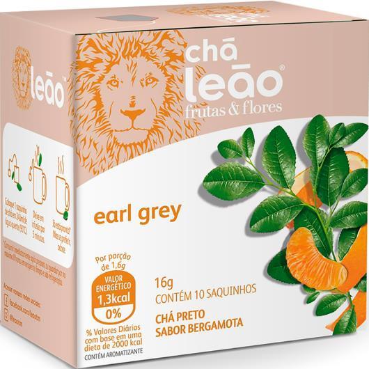 Chá earl grey Frutas e Flores Leão 16g - Imagem em destaque