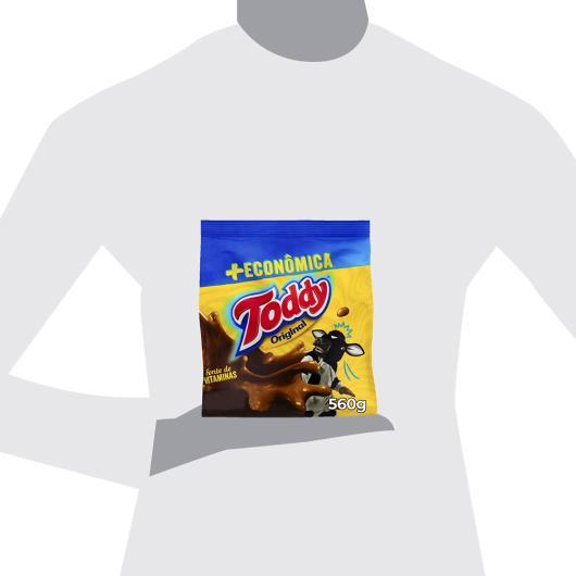 Achocolatado Em Pó Original Toddy Pacote 560G + Econômica - Imagem em destaque