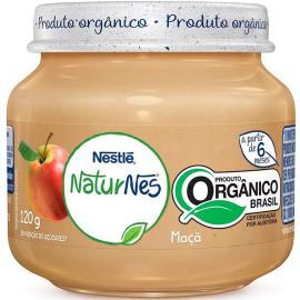 Papinha maçã orgânica NaturNes Nestlé 120g
