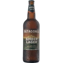 Cerveja amber lager Patagonia 740ml