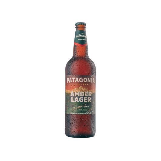 Cerveja Patagonia Amber Lager 740ml Garrafa - Imagem em destaque