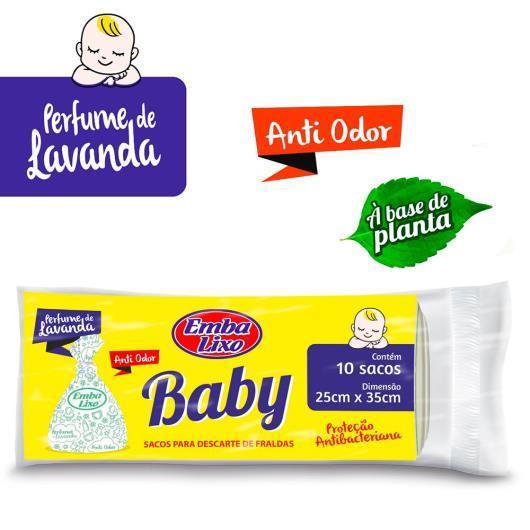 Saco de lixo baby Embalixo 10 unidades - Imagem em destaque