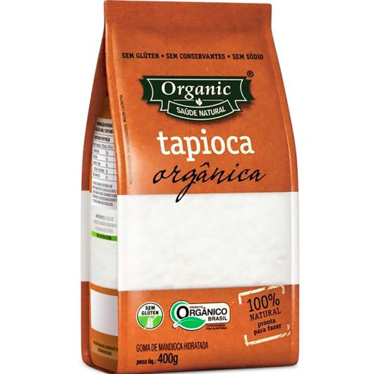 Goma de mandioca para tapioca Organic 400g - Imagem em destaque