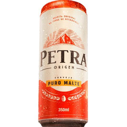 Cerveja puro malte Petra 350ml - Imagem em destaque