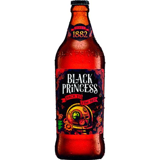Cerveja back to the red Black Princess 600ml - Imagem em destaque