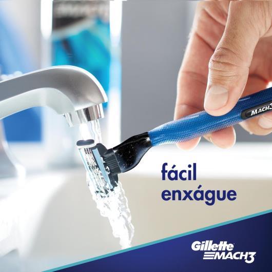 Aparelho de Barbear aqua grip Mach3 unidade - Imagem em destaque