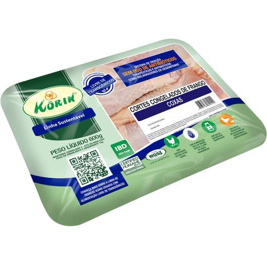 Coxa de Frango congelado Korin 600g - Imagem em destaque