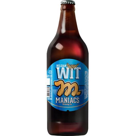 Cerveja Belgian Maniacs wit trigo Garrafa 600ml - Imagem em destaque