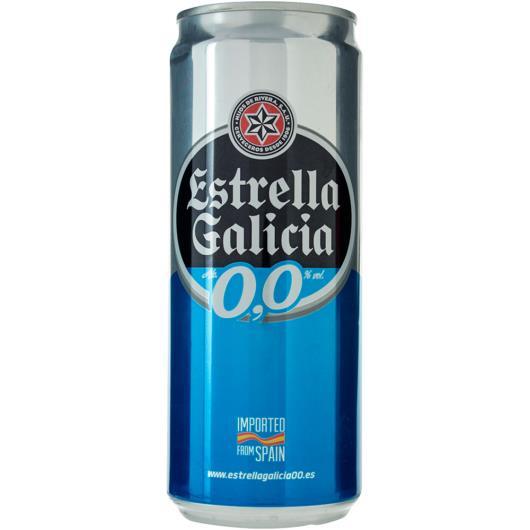 Cerveja 0.0 Estrella Galicia 330ml - Imagem em destaque