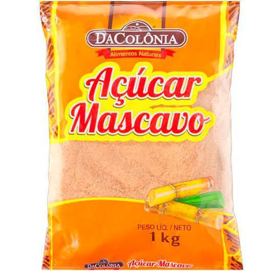 Açúcar mascavo Dacolônia 1kg - Imagem em destaque