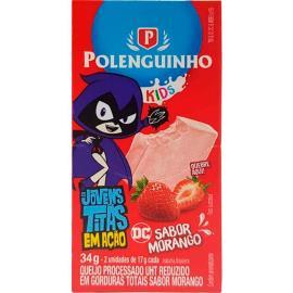 Queijo morango Kids Polenguinho 34g
