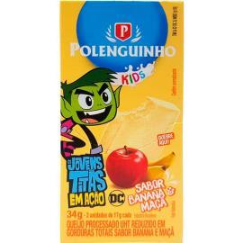 Queijo banana e maçã Kids Polenguinho 34g