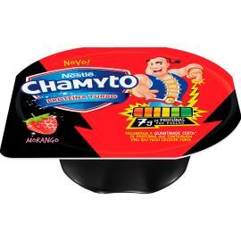 Iogurte de morango Proteína Turbo Chamyto 100g