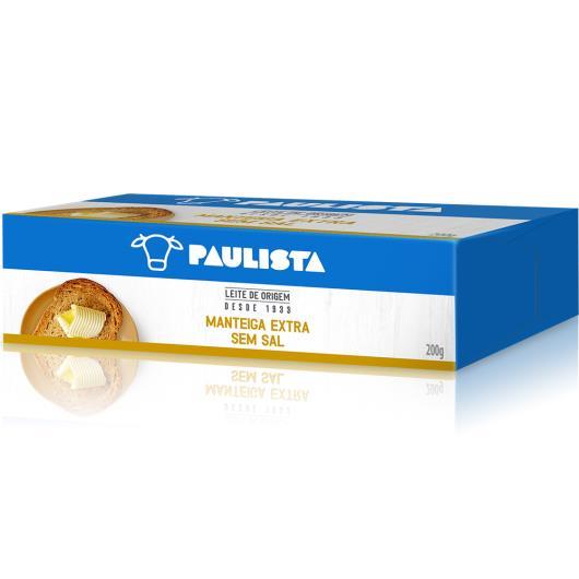 Manteiga sem sal Paulista 200g - Imagem em destaque