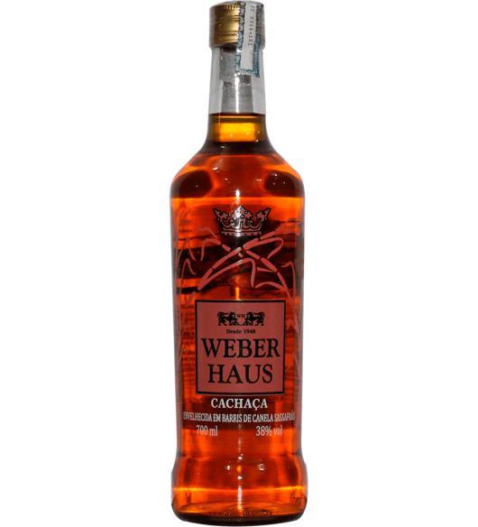Cachaça Canela Sassafrás Weber Haus 700ml - Imagem em destaque