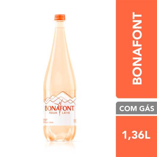 Água mineral com gás Água Leve Bonafont 1,36L - Imagem em destaque