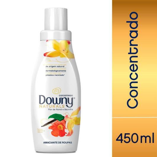 Amaciante concentrado flor de romã e baunilha Naturals Downy 450ml - Imagem em destaque