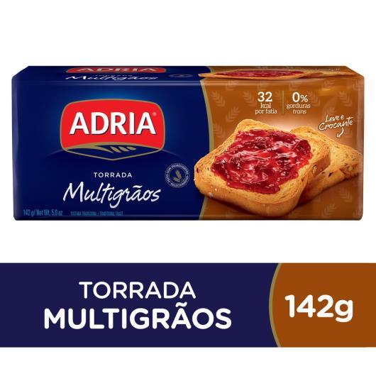 Torrada Adria Multigrãos 142g - Imagem em destaque
