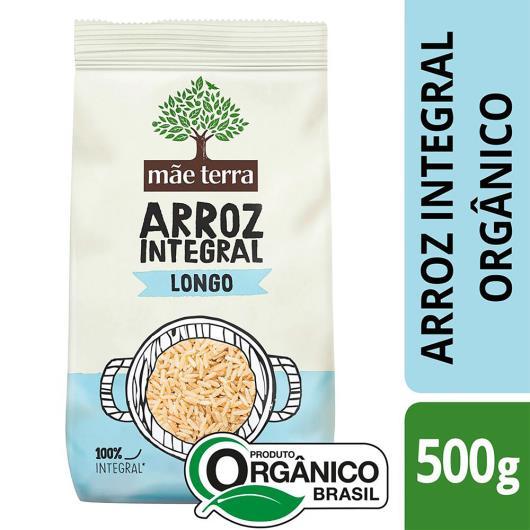 Arroz Integral Orgânico Tipo 1 Mãe Terra Pacote 500g - Imagem em destaque